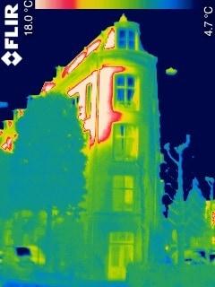 Warmtebeeldfoto Wijkcentrum Ceintuur