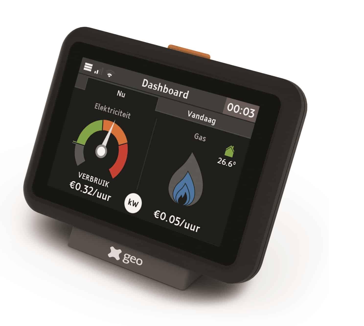 5% besparing mogelijk met energiedisplay