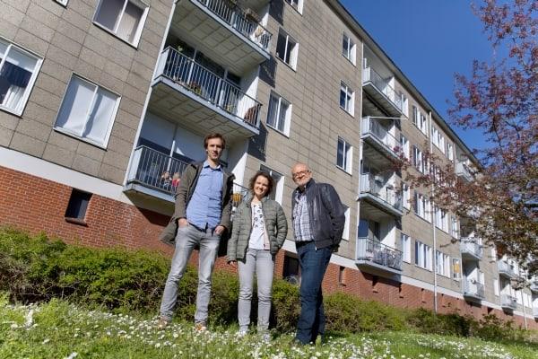 Interview bewoners Amstelhof: succes met isolatieplan