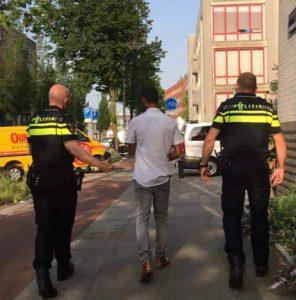 Oplichter woonruimte gearresteerd