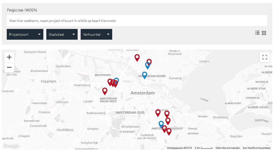 Nieuw! Informatie over projecten nu op onze website