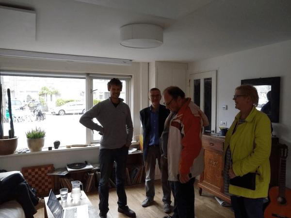 Inspirerende excursie aardgasvrij wonen in Noord