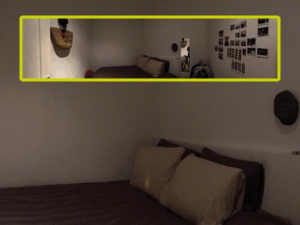 Kamer zonder ramen voor € 715