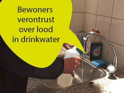 Bewoners verontrust over lood in drinkwater [video]