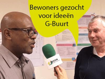 Bewoners gezocht voor uitvoeren gave ideeën buurtbudget G-Buurt