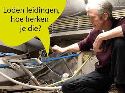 Foto bij nieuwsbericht Hoe herken je loden leidingen?