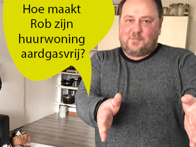 Foto bij video-interview huurder Rob