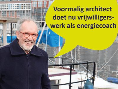 Voormalig architect Bart aan de slag als energiecoach